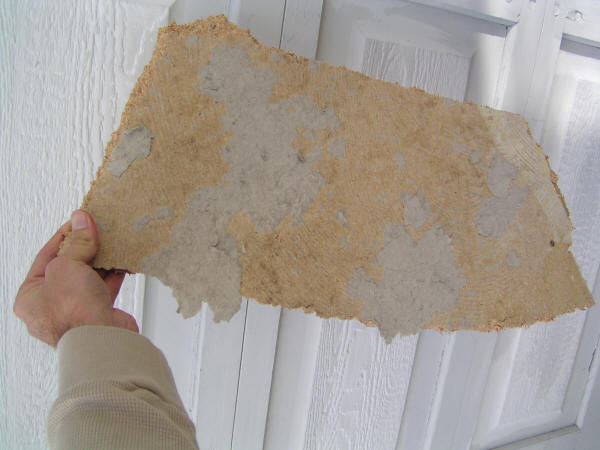 piece of particleboard